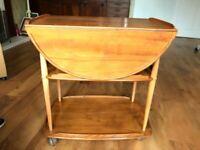 Errol mid century trolley table £50
