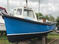Cygnus 21 fishing boat