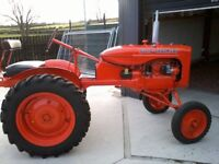 1938 Allis Chalmers B with Bow Axle