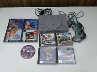 Playstation 1 With 10 Games