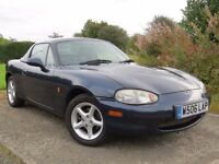 !!MOT AUG 2017!! 2000 MAZDA MX5 1.6 / FULL SERVICE HISTORY / IMMACUALTE CONDITION / MUST BE SEEN