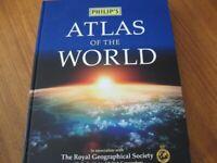 PHILIPS ATLAS OF THE WORLD
