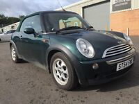 *TRADE IN TO CLEAR*IDEAL FOR PROJECT*2004(54)MINI COOPER 1.6 CONVERTIBLE WITH MOT TILL FEB 2017*