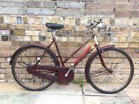 Ladies vintage bicycle by Raleigh 1956