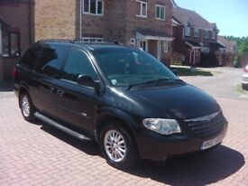 2007 Chrysler Grand Voyager Limited Edition 2.8 crd.....(7 SEATER) Automatic