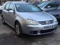 VOLKKSWAGEN GOLF 2.0 TDI 2005 (54 REG)*£1499*F/S/H*DIESEL*5 DR*CHEAP CAR TO RUN*PX WELCOME*DELIVERY