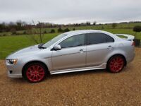 2008/58 Mitsubishi Lancer GS4 Di-D diesel remapped 180bhp **Cambelt done**