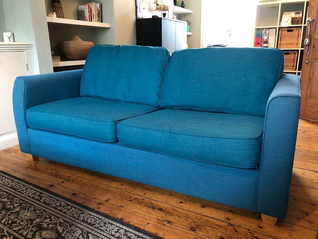 Superb Double Sofa Bed Debenhams Dante Teal In Brighton East Sussex Gumtree Alphanode Cool Chair Designs And Ideas Alphanodeonline