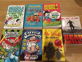 SELECTION OF BOYS BOOKS (inc James Patterson and David Walliams)