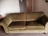 Green sofa large 2 seater