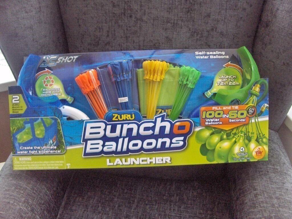 x shot buncho ballons launchers bnib.