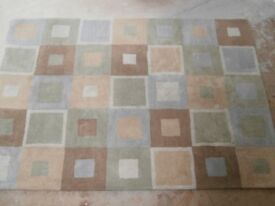 Contemporary pure wool rug suitable hearth or any other room