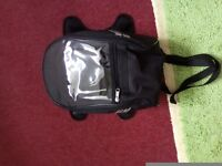 Tank Bag - small as new. Magnetic and straps.