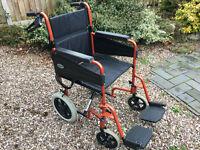 Days Patterson Escape Lite Lightweight Wheelchair