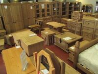 We have the full range of Solid Corona Mexican Pine on display & available immediately