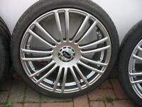 Alloy Wheels and tyres in good condition