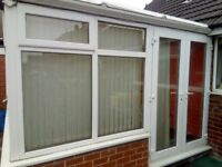 UPVC conservatory in very good condition