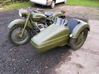 1971 ural 650 cossack motorbike an sidecar