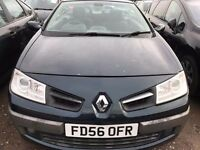 Renault Megane 1.5 DCI Convertible 2007 model 2dr only £999