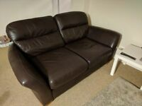 Real Leather Sofa in Clifton, Bristol