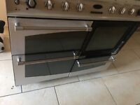 Belling fusion double electric oven
