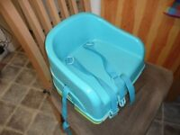 childs dining chair booster seat and step stool
