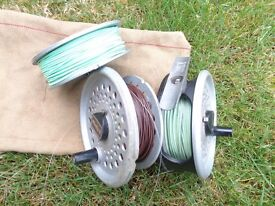 RIM-FLY FLY REEL WITH SPARE SPOOLS/LINE