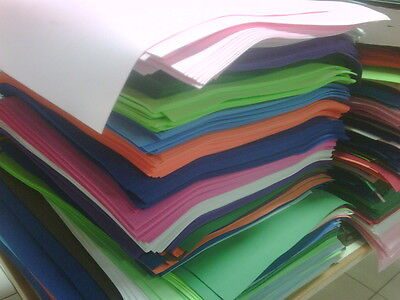 CRAFT FOAM SHEETS ASSORTED COLORS, GOMA EVA, COSLPAY FOAM, FOAMY, FOFUCHAS.