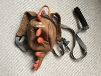 Little life gruffalo backpack with reins
