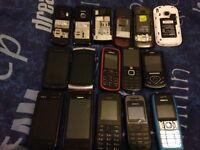 Joblot phones nokia samsung sony ericsson untested spares/repair