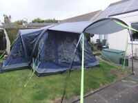 Inflatable Tent OUTWELL TOMCAT 5SA - 5Man inflatable tent inc electric pump and footprint