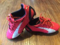 Football boots puma evo speed size 13 great condition