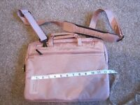 Laptop bag - pink- used but in good condition