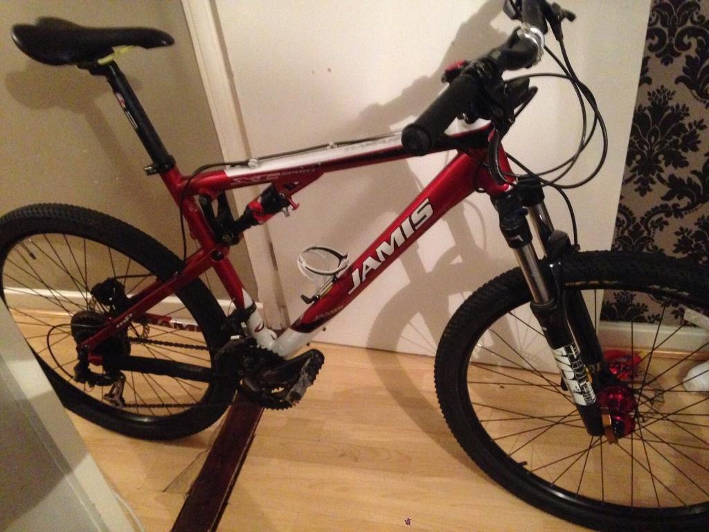 Jamis dakar xc sport full sus mountain road bike bicycle