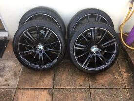 BMW 18 inch Alloy Wheel with Tyres x4