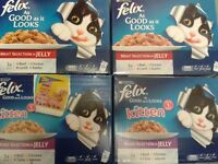 Lots of Cat/Kitten Wet Food Pouches!!