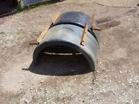 USED TRANSIT OR IVECO TWIN WHEEL PLASTIC MUDGUARDS lots available