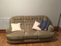 Chic Sofa and Two Chairs for Reluctant Sale
