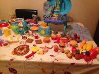 Child's kitchen accessories/BBQ set