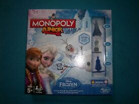 Disney Frozen Monopoly Junior Game IP1