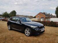 62 REG 2012 BMW X1 2.0CC 18D M SPORT XDRIVE,6 SPEED MANUAL,1 FORMER KEEPER,12 MONTHS MOT,07707755411