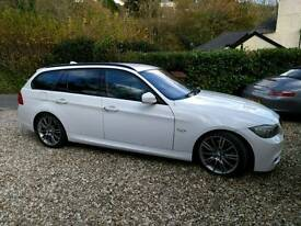 BMW 3 Series M Sport Plus Touring Business Edition Estate, White