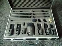 7 Piece Drum Microphone Set
