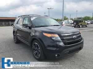 2014 Ford Explorer Sport **GPS, CAMERA, HAYON ELEC + WOW**