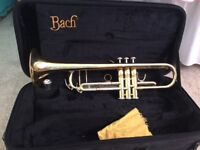 Bach TR400 trumpet great condition beginner intermediate