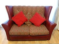 Vintage 1940s Sofa refurbished and re-sprung Immaculate condition