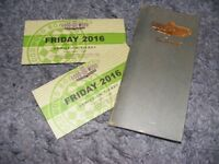 Goodwood Revival - Pair of Friday Tickets (9/9) £110 - Beats Stubhub hollow