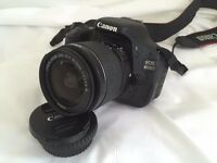 CANON EOS 600D + 3X LENS + MANY EXTRAS big bundle