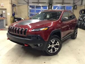 2015 Jeep Cherokee TRAILHAWK.4X4.TOIT.GPS.CAMÉRA.PLAN OR.