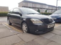 Toyota Corolla 1.6 VVT-i Black. Reliable. Cheap. Great Condition